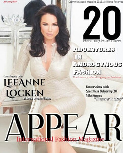 Appear Magazine Cover 2017