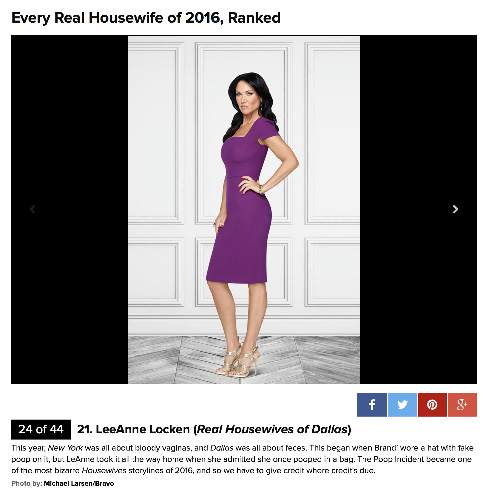 E News Ranking Top Housewives
