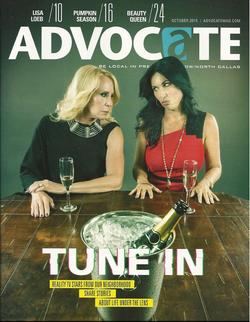 Advocate Magazine Realtiy TV