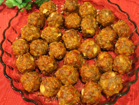 Maple Sausage Apple Cheese Balls? Oh yeah!