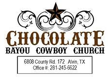 Chocolate Bayou Cowboy Church Logo 2021.