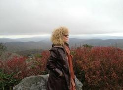 Grammy On Mountain