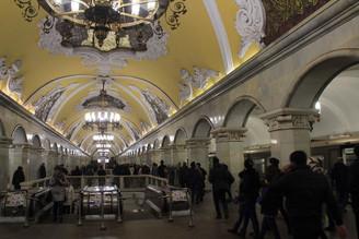 Grandeur impériale et faste soviétique de Moscou et St Pétersbourg