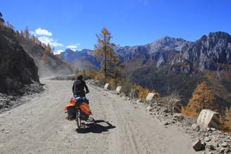 Derniers tours de roue sur le plateau tibétain
