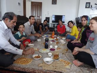Un «dimanche» à la campagne dans l'Azerbaïdjan iranien