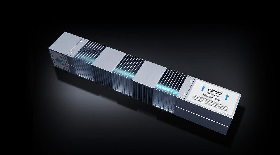 Airgle AG900 Titanium Pro UV module