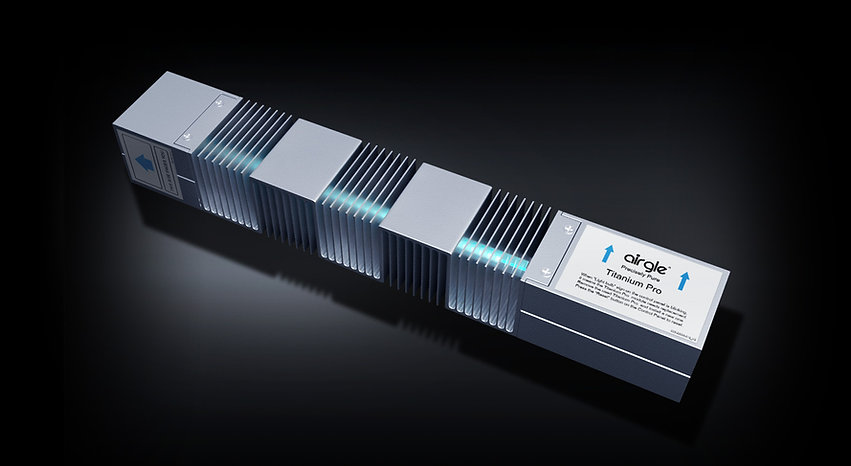 Airgle titanium pro uv module