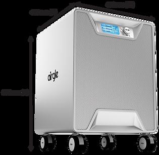 Airgle AG800 size