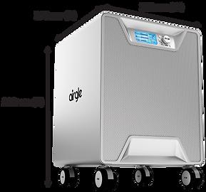 Airgle AG500 size
