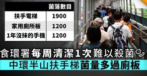 【工作案例】扶手電梯及升降機(抗菌)