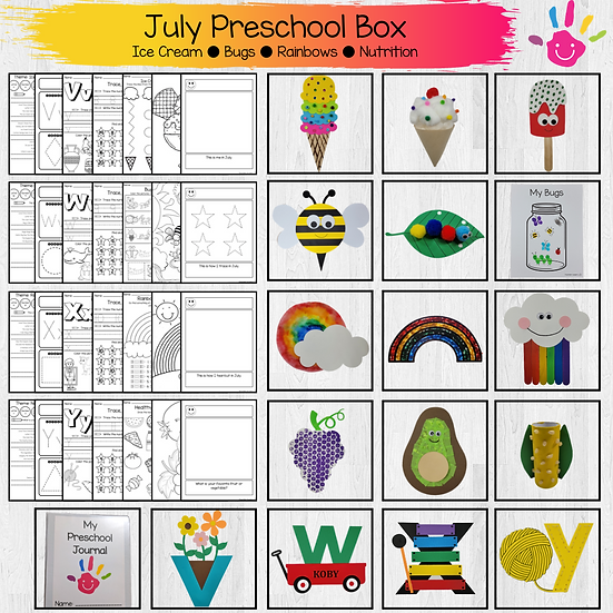 July Box - 3 Children