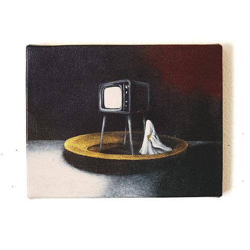 アクリル画「主体と客体」