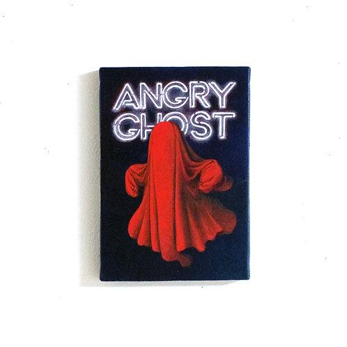 アクリル画「ANGRY GHOST」