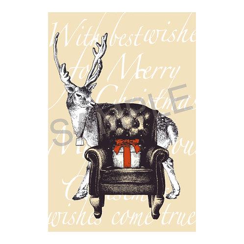 ポストカード02_reindeer