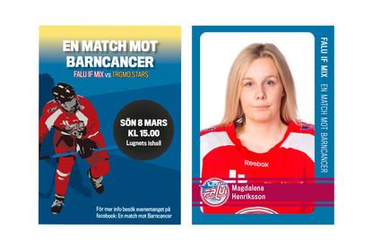 Exempel på hockeykort.