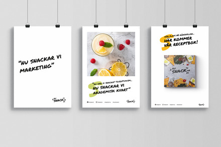 Affischer ur crossmedikampanj