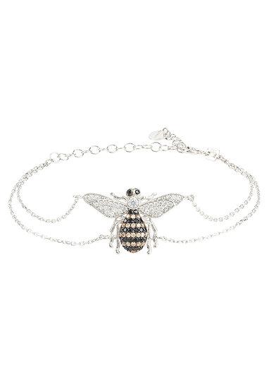 Honey Bee Bracelet Silver