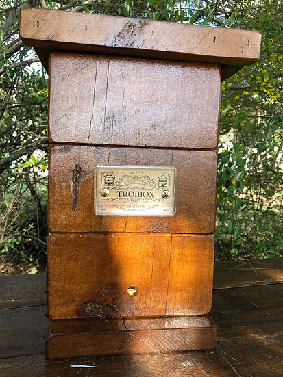 Walnut Stain Induction hive