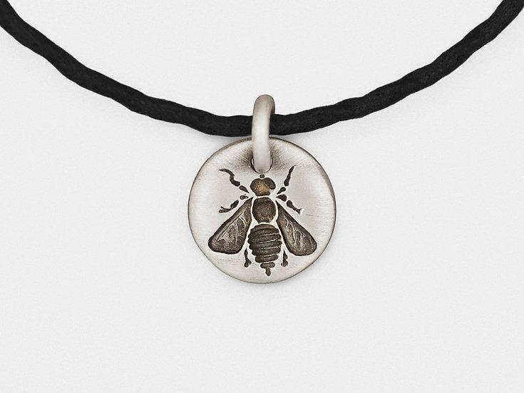 Bee Charm Bracelet in Sterling Silver