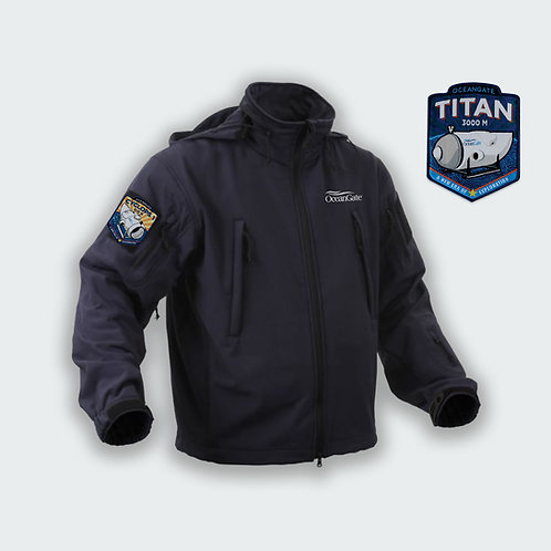 OceanGate Branded Tactical Soft Shell Jacket