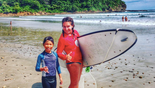 Beginner surf lessons for kids