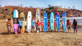 Beginner surf lessons in San Juan Del Sur all year round