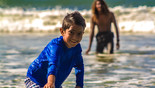 Surf lessons for kids in San Juan Del Sur