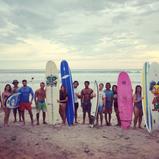 Begginer surf lessons