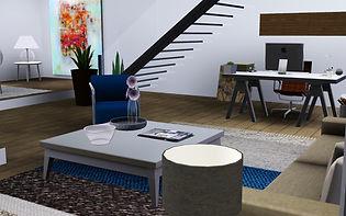 apartamento sims 3, decoración sims 3, sims 3