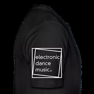 T-Shirt schwarz mit Logo aus 100% Baumwolle