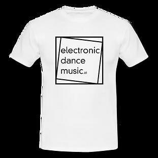 T-Shirt weiß mit Logo aus 100% Baumwolle