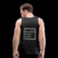 Tank Top schwarz mit Logo aus 100% Baumwolle