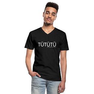 TÜTÜTÜ T-Shirt mit V-Ausschnitt