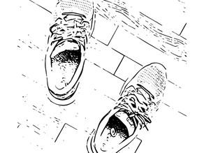 किसके जूते, किसके पैर