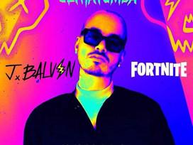 J BALVIN EN LA FIESTA DE FORTNITE