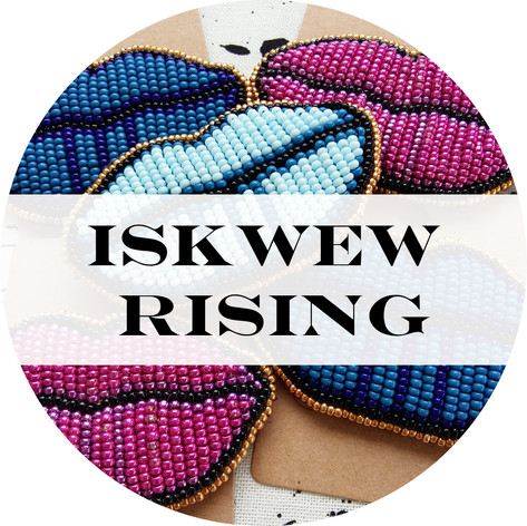 Iskwew Rising Logo