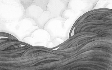 Smoke and the Clouds - Endpapers