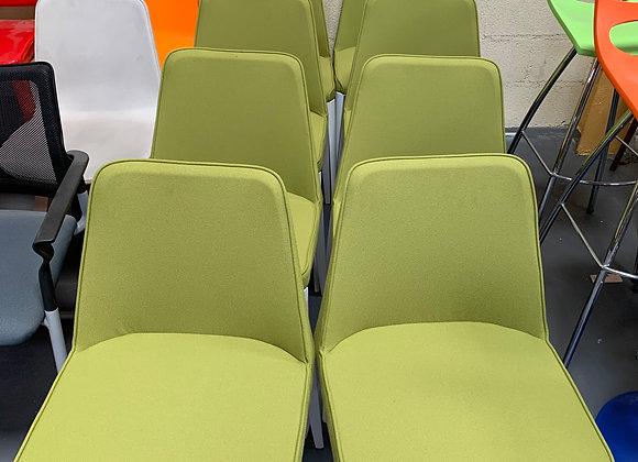 Lot de 8 chaises de reunion