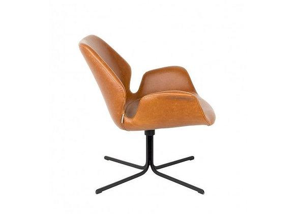 Chaise lounge Nikki pivotante - ZUIVER