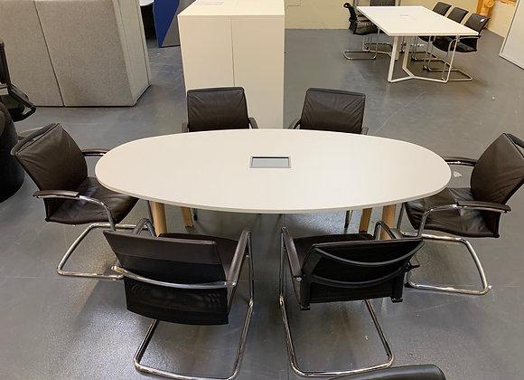 Table de réunion Oval L210