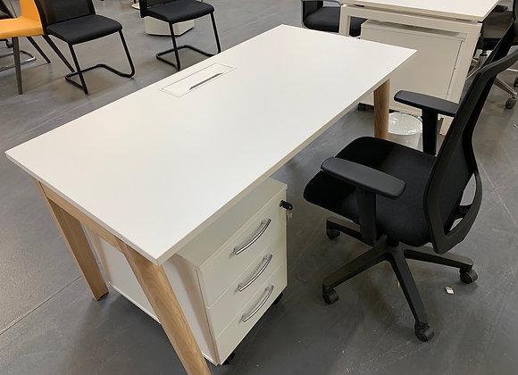 Ensemble Bureau Wood 140 x70cm
