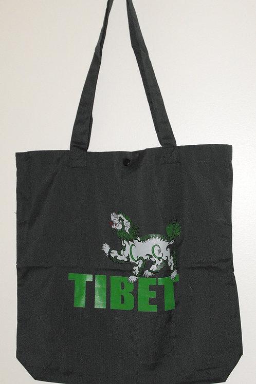 Sac à poignées vert Tibet