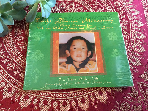 Tashilhunpo's Monks sacred prayers for H.H.Dalaï-Lama and Panchen Lama CD