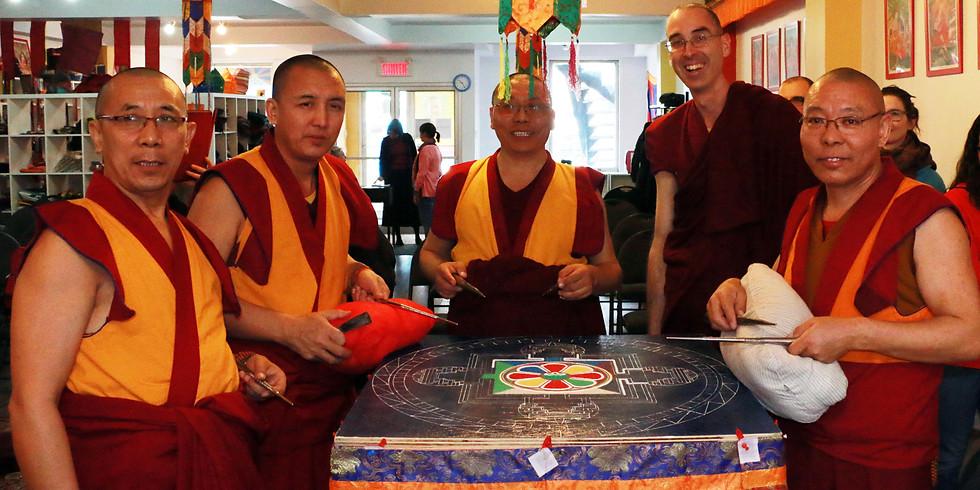 Mandala de sableet Festival avec les moines tibétains ! En LIGNE