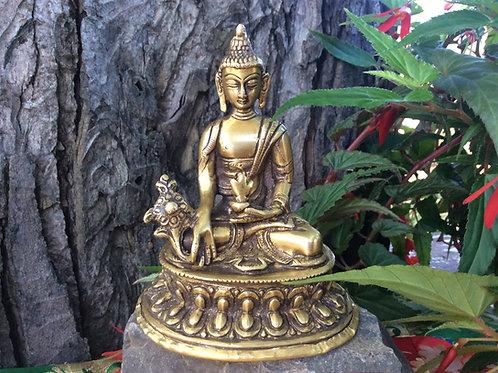 Statuette de  Bouddha de la médecine 12.5 cm