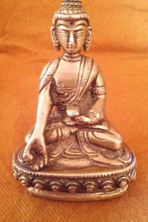 Statuette du Bouddha Ratnasambhava 10 cm