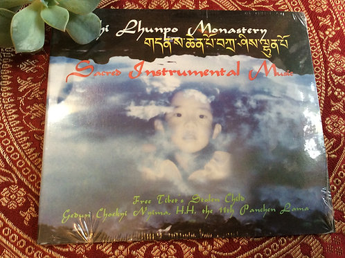 Sacred Instrumental Music by Tashi Lunpo Monastery's monks CD