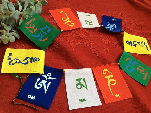 Drapeaux de prière Mantra de compassion