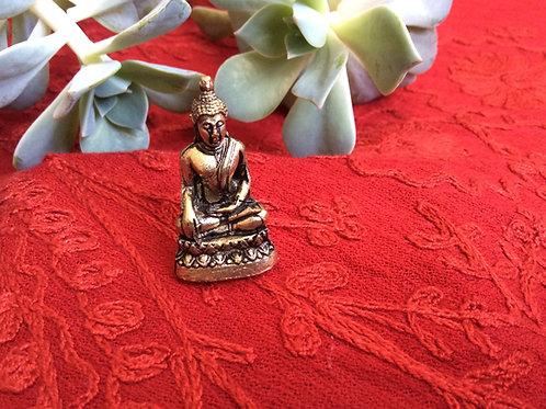 Mini statuette de Bouddha Shakyamouni