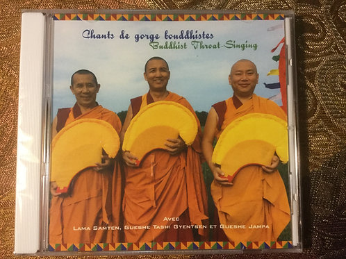 Chants de gorge bouddhistes.... Buddhist Throat-Singing